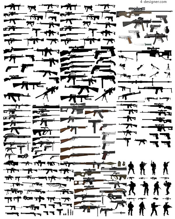 Firearms and weapons
