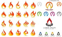 Flame LOGO design