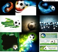 Football advertising elements