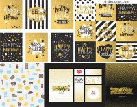 Happy birthday theme card
