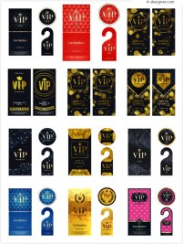 High grade VIP card design