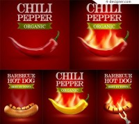 Hot dogs and hot peppers