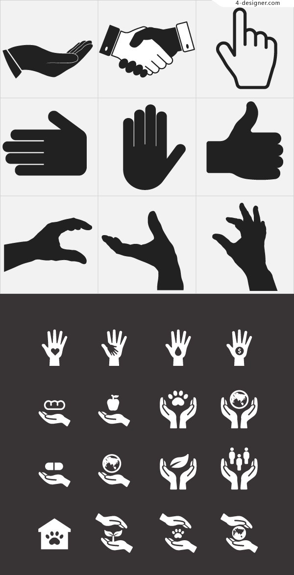 Palm gesture Icon