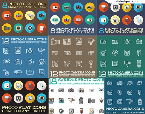 Photography digital equipment Icon
