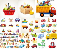 Toy vector for children