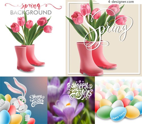 Tulips and rabbits