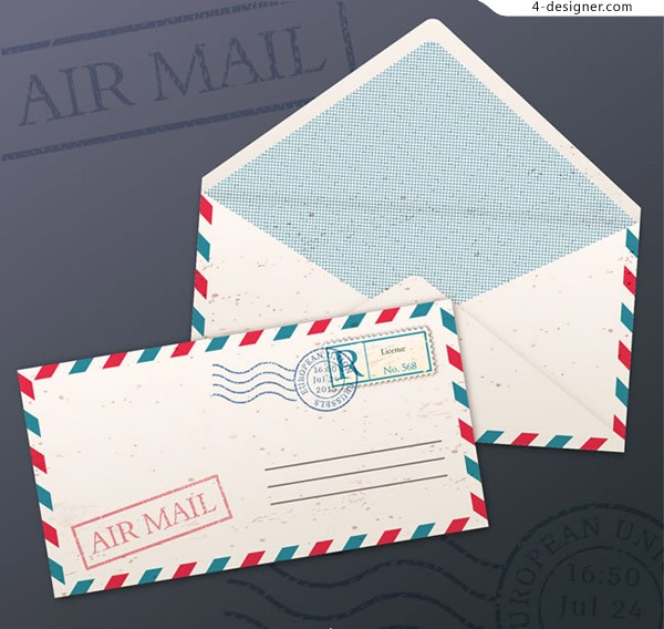 White airmail