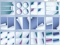 White roll paper