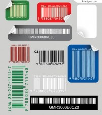 bar code sticker
