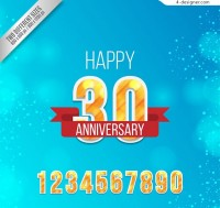 30th anniversary digital greeting cards