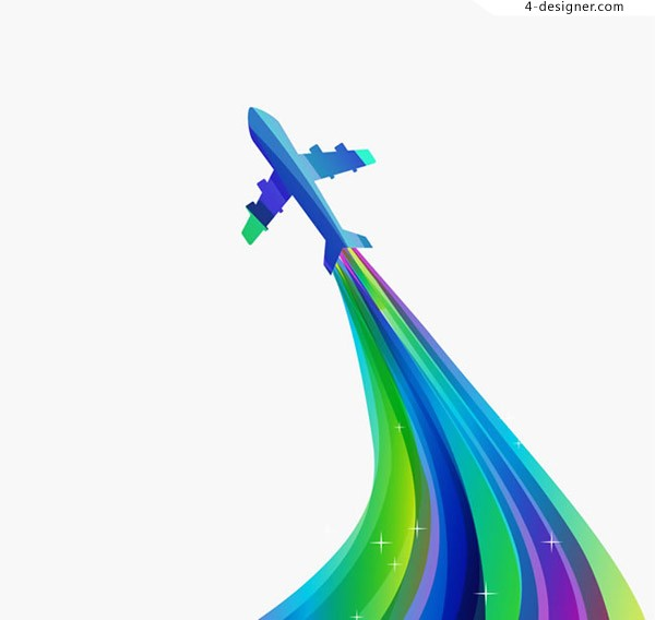 Aircraft and color trajectories