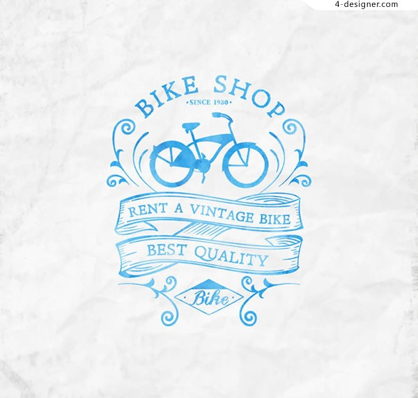 Bicycle shop posters