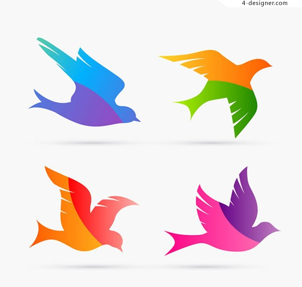 Color matching dove design