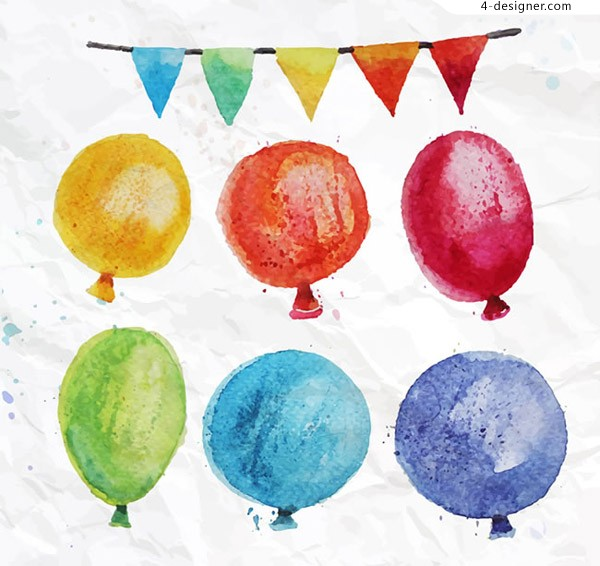 Color water balloon