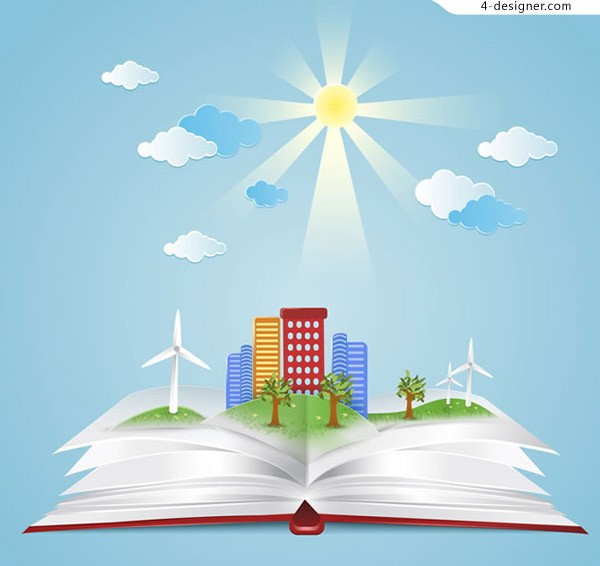 Environmentally friendly cities in books