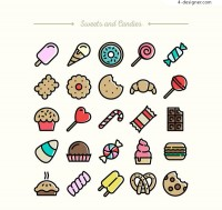 Exquisite dessert Icon