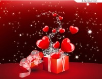 Flying out of the gift of love