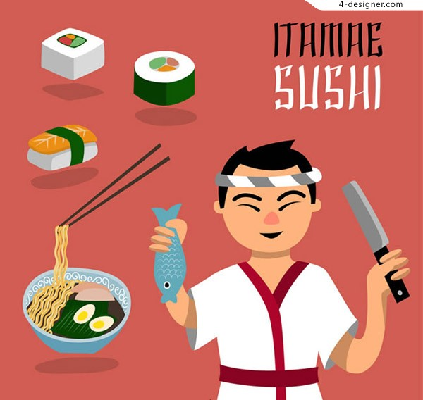 Japanese chef and cuisine