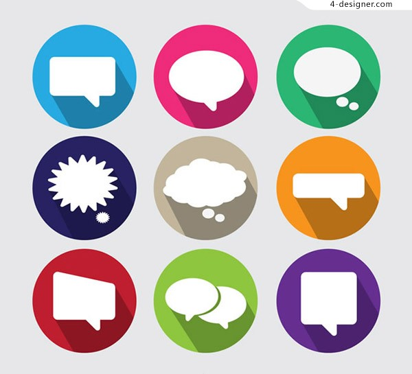 Language bubble Icon