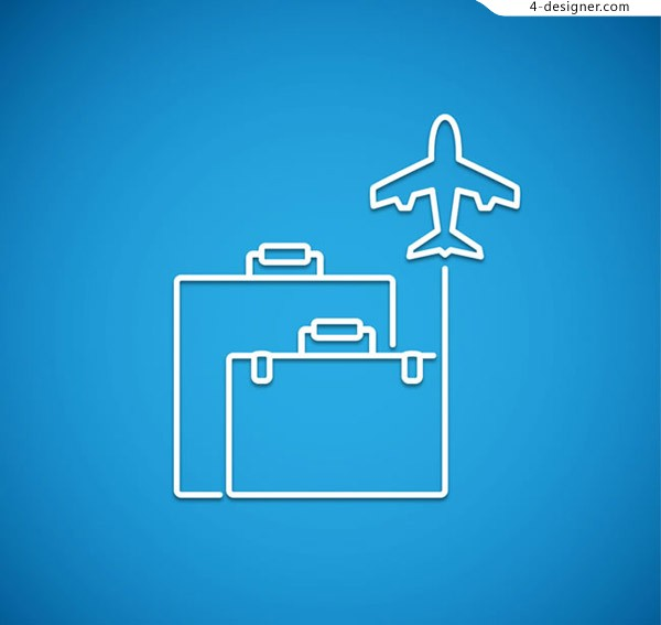 Luggage and aircraft