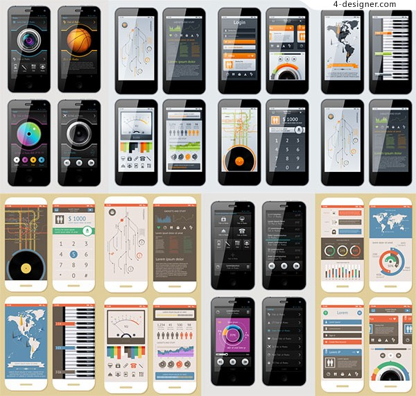 Mobile phone interface application