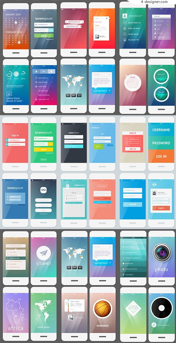 Mobile phone interface design