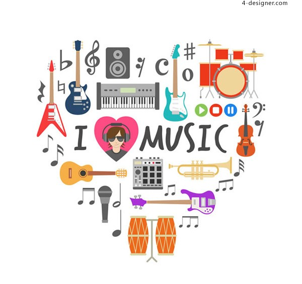 Music element combination love