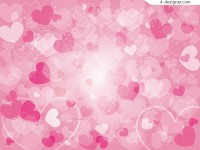 Pink love background