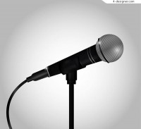 Realistic microphone vector