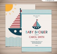 Sailing party card
