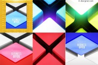 Stereo texture background vector