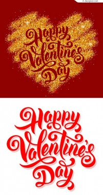 Valentine s day art words