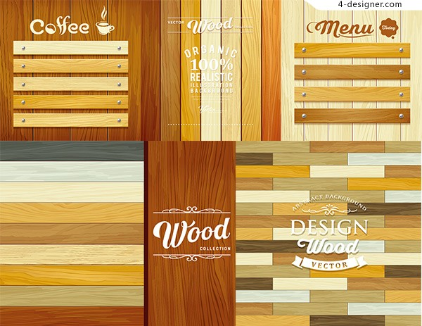 Wood and board elements