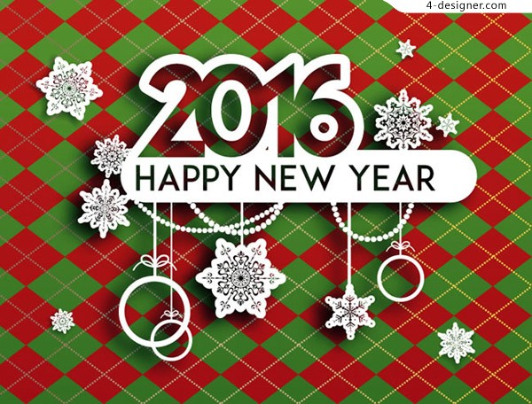 2016 New Year greeting cards