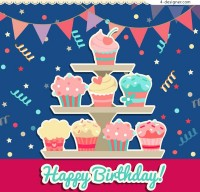 Cake birthday clip art