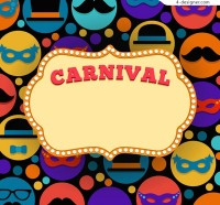 Carnival text background