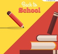 Creative books back to school posters