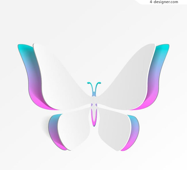 Creative paper butterfly