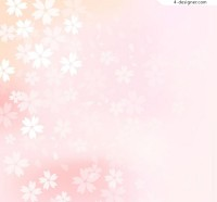 Elegant cherry blossom background