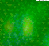Green Triangle mosaic background