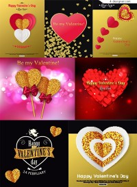 Heart shaped Valentine s Day