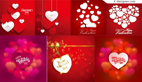 Love Valentine s Day vector