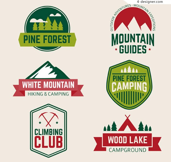 Outdoor mountaineering tag