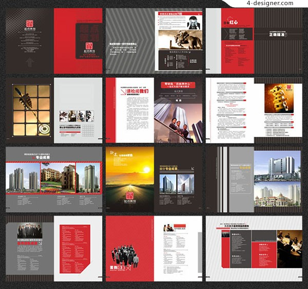 Picture album of advertising company