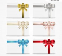 Ribbon decoration cards