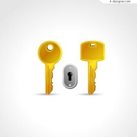 The golden key and the keyhole