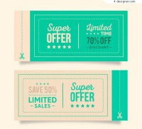 Time limited coupon vector