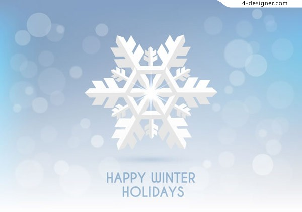 Winter holiday cards