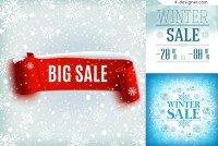 Winter promotional advertising