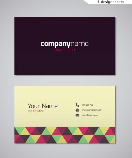 Air business card design